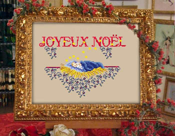 Passione Ricamo Closeout Holy Baby Joyeux Noel