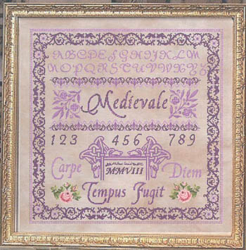 Passione Ricamo Closeout Royal Purple Sampler