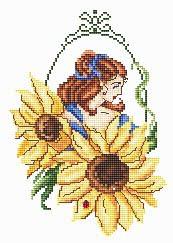 Passione Ricamo Closeout Sunflower Fae