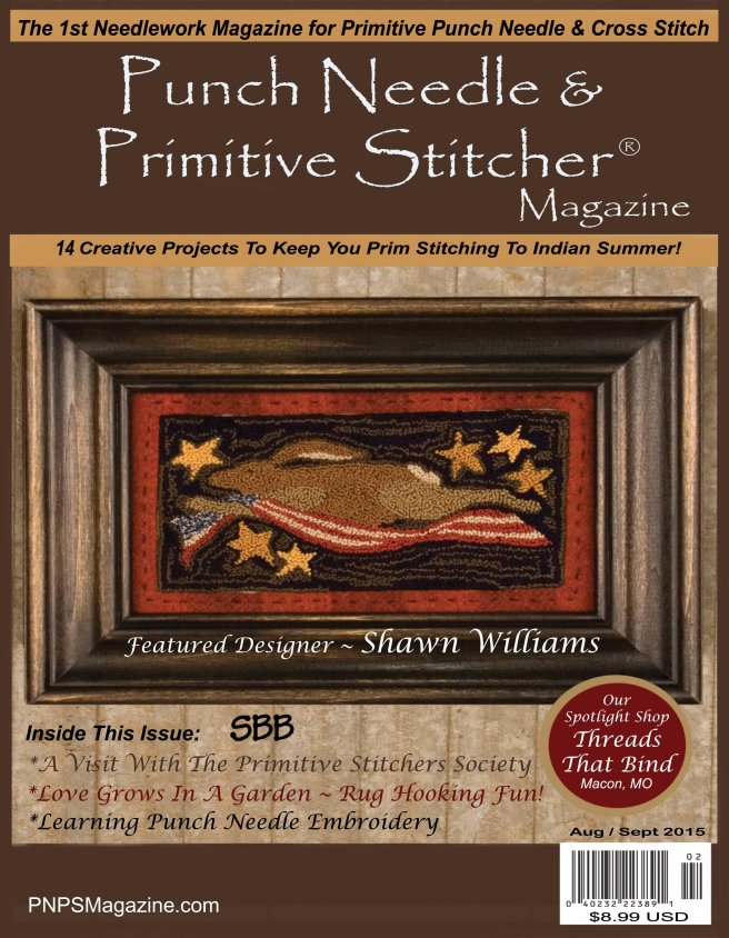Punch Needle & Primitive Stitcher Magazine Fall 2015
