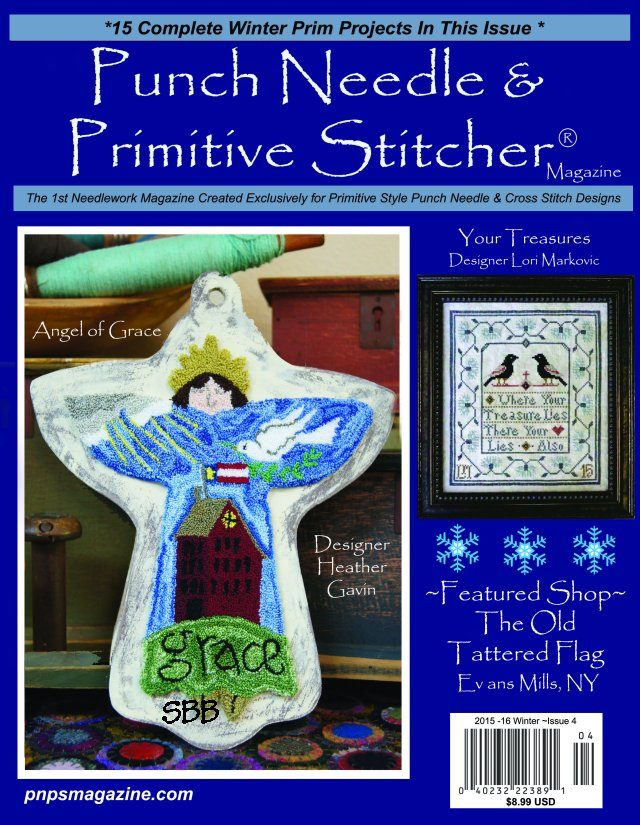 Punch Needle & Primitive Stitcher Magazine Winter 2015