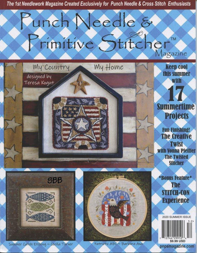 Punch Needle & Primitive Stitcher Magazine Summer 2020