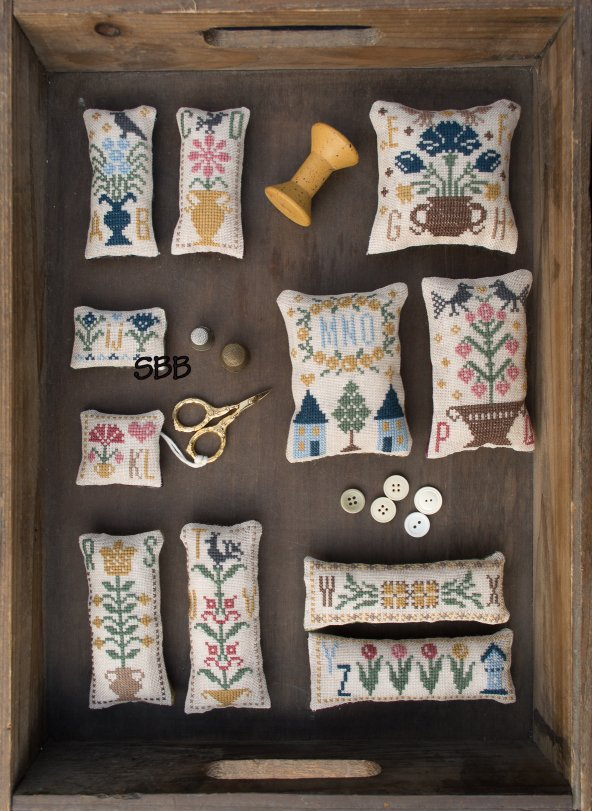 Pheasant Street Samplers Closeout A Floral ABC