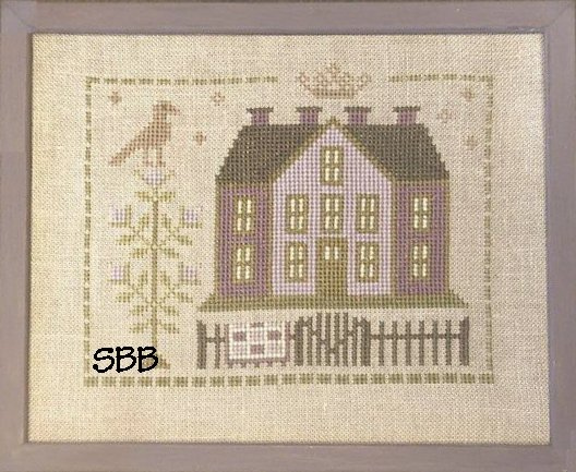 Pheasant Street Samplers Closeout English Cottage Series ~ #2 Birdsong Cottage