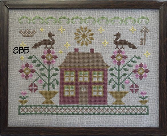 Pheasant Street Samplers Closeout English Cottage Series ~ #4 Bloomsbury Cottage