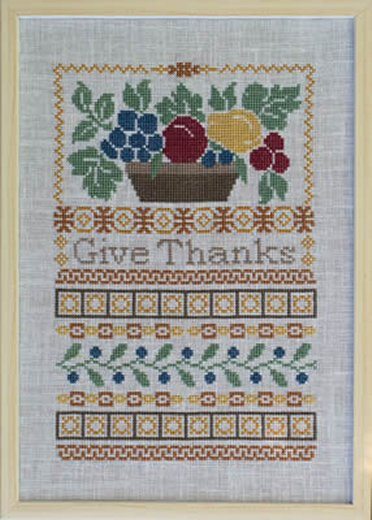 Pheasant Street Samplers Closeout Give Thanks