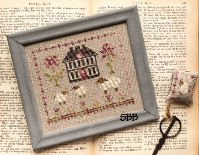 Pheasant Street Samplers Closeout Simply Spring