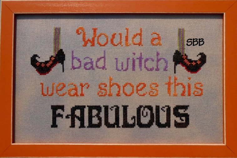 Pickle Barrel Designs Bad Witch ~ Good Shoes