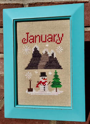 Pickle Barrel Designs Bitty January