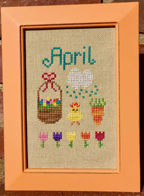 Pickle Barrel Designs Bitty April