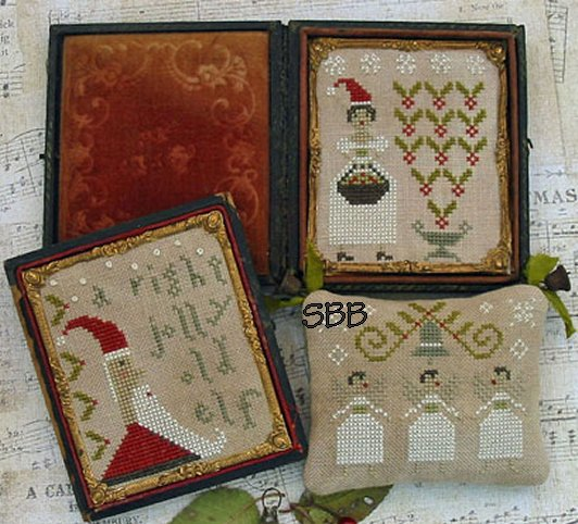 Pineberry Lane Merry Little Stitches