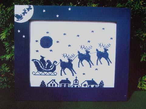 Poppy Kreations Blue Christmas