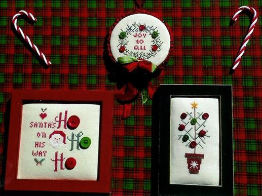 Poppy Kreations Buttoned Christmas III
