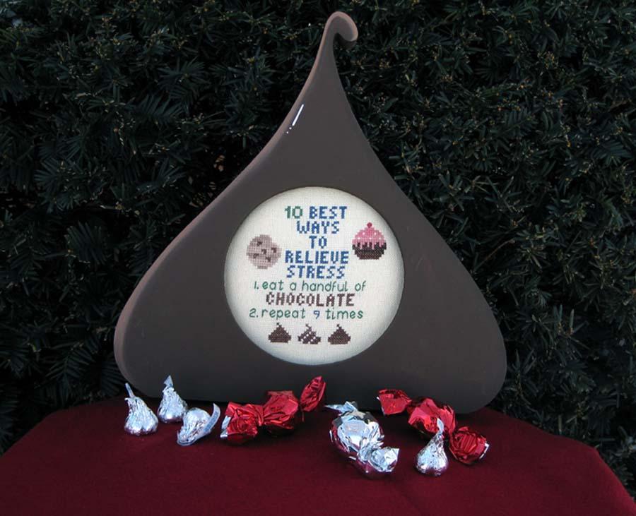 Poppy Kreations Chocolate & Stress
