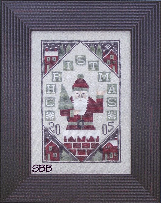 Prairie Schooler 2005 Here Comes Santa (Chart Only)