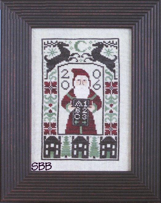 Prairie Schooler 2006 Dear Santa (Chart Only)