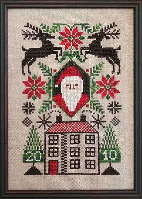 Prairie Schooler Limited Edition2010 Santa's House (Chart Only)