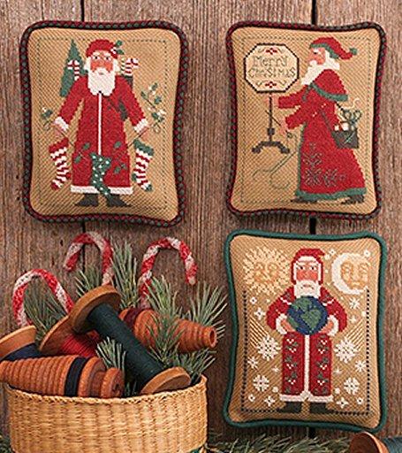 Prairie Schooler Santas Revisited VI (1995, 2003, 2004)