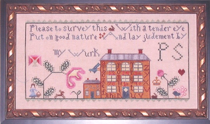 Praiseworthy Stitches Alphabet House