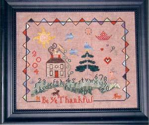 Praiseworthy Stitches Be Ye Thankful