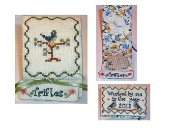 Praiseworthy Stitches Bluebird Trifle Case