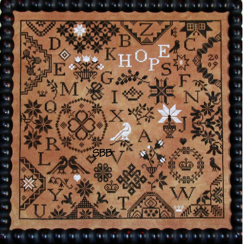 Praiseworthy Stitches The Simple Gifts ~ Hope