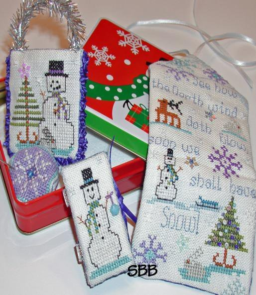 Clearance Praiseworthy Stitches Limited Edition Snow Crystal Huswif