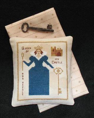 Primitive Needleworks Queen Of My Castle & Needle