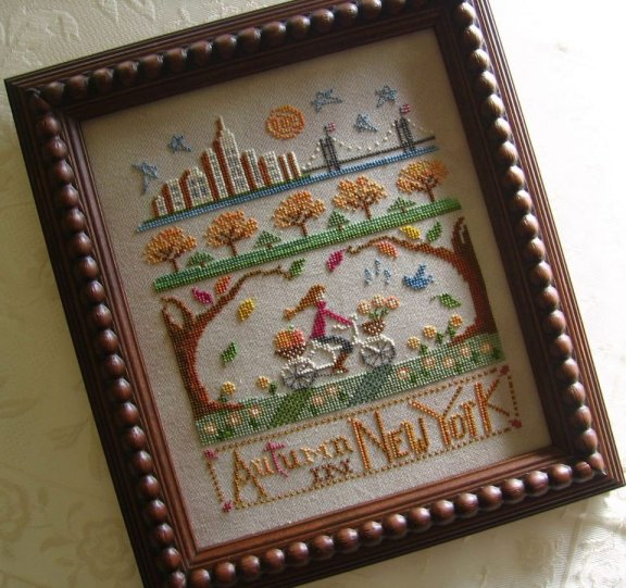Primrose Needleworks Autumn In New York