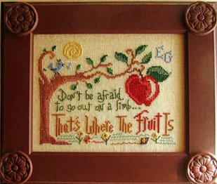 Primrose Needleworks Out On A Limb