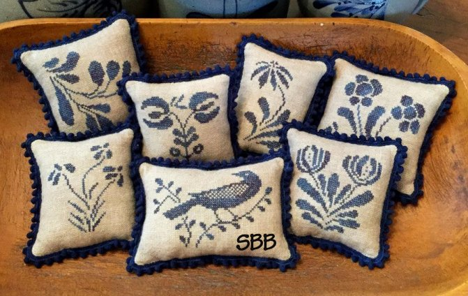 Priscilla's Pocket Stoneware Pillows II