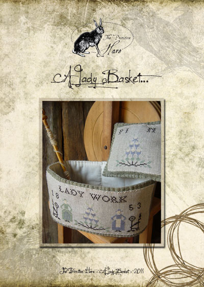 The Primitive Hare A Lady Basket