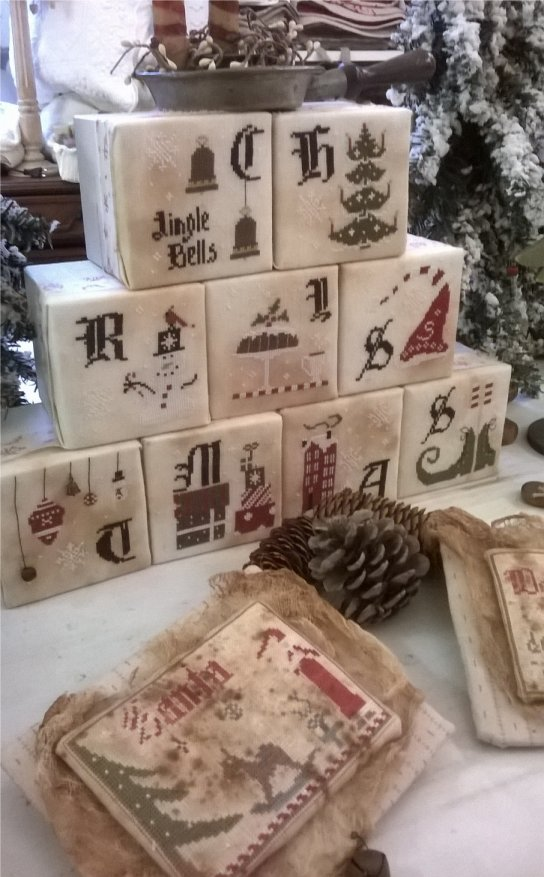 The Primitive Hare Christmas Cubes