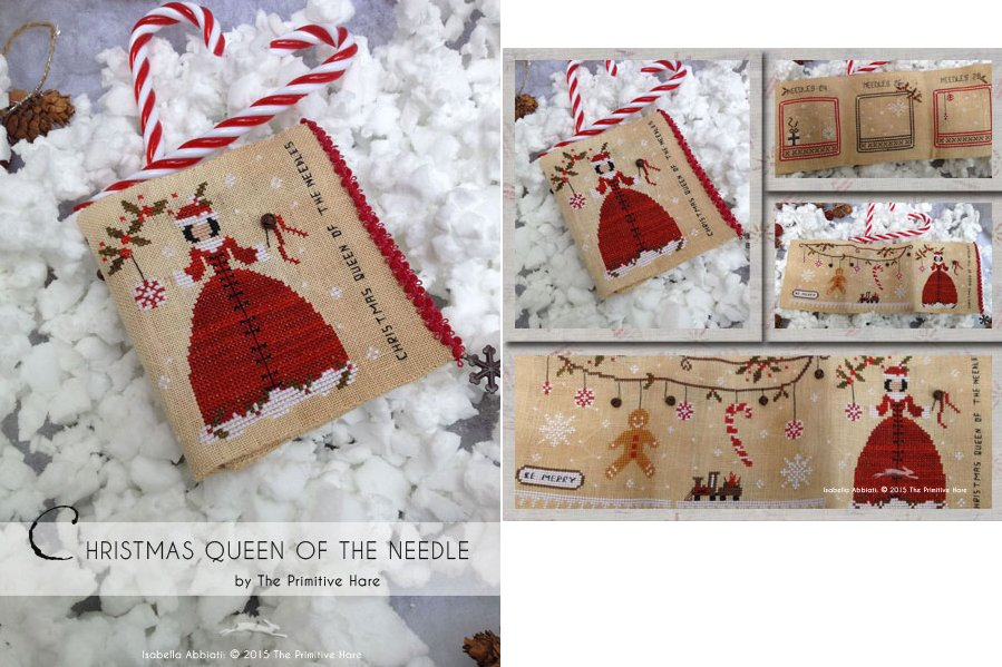 The Primitive Hare Christmas Queen Of The Needles