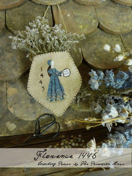 The Primitive Hare Florence 1445 Stitching Purse