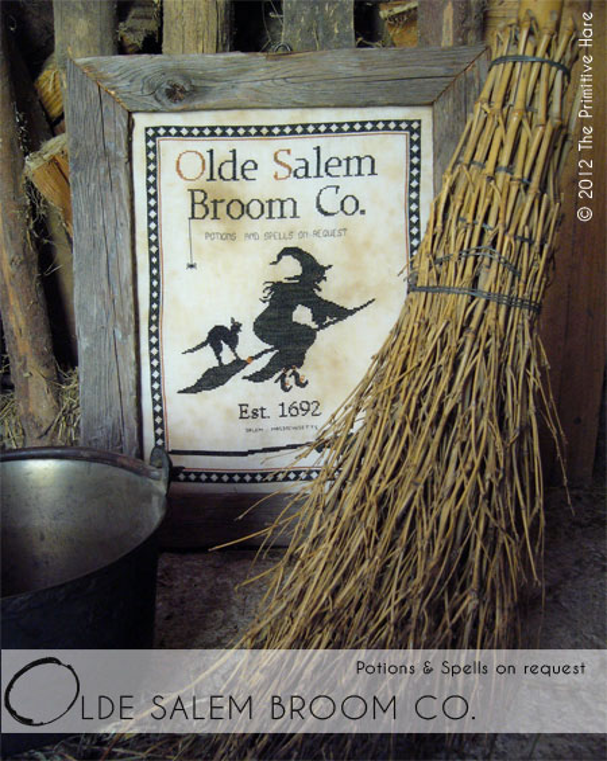 The Primitive Hare Olde Salem Broom Co.