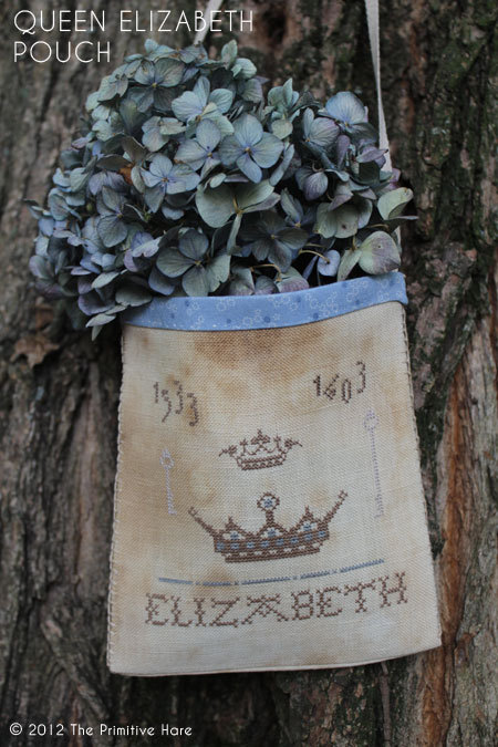 The Primitive Hare Queen Elizabeth Pouch