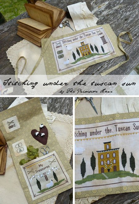 The Primitive Hare Stitching Under The Tuscan Sun