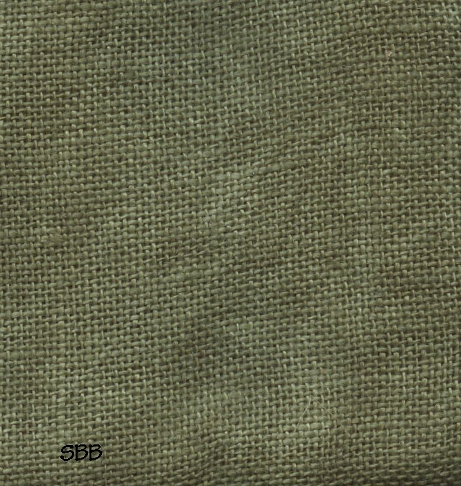 The Primitive Hare Linen30 Count Rainbow Linen Forest Green 16
