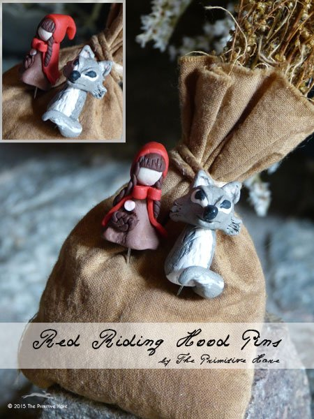 The Primitive Hare Pins Red Riding Hood