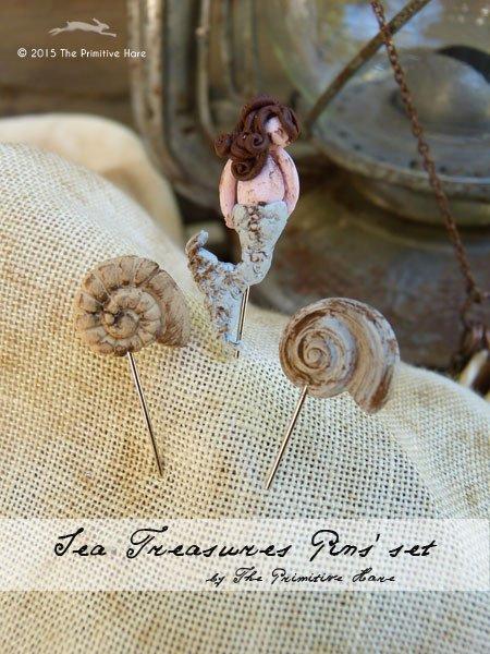 The Primitive Hare Pins Sea Treasures