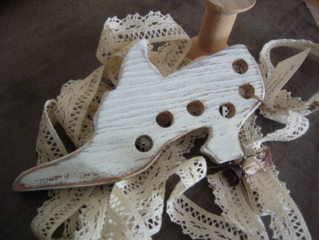 The Primitive Hare Thread Keepers Cinderella's Enchanted Shoe