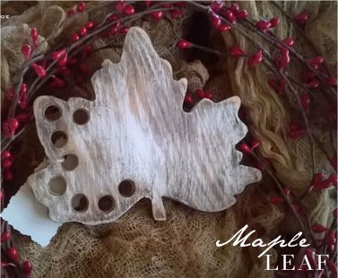 The Primitive Hare Thread Keepers Maple Leaf