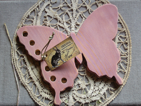 The Primitive Hare Thread Keepers Pink Butterfly