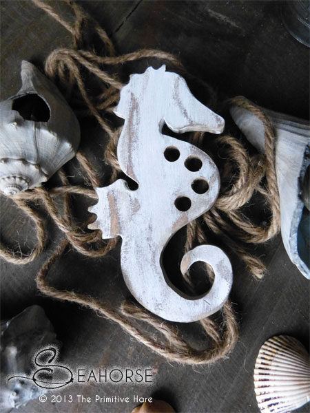 The Primitive Hare Thread Keepers Seahorse