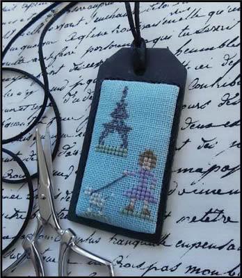 The Primitive Jewel Closeout A Poodle In Paris Necklace Kit
