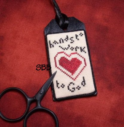 The Primitive Jewel CloseoutHearts To God Necklace Kit