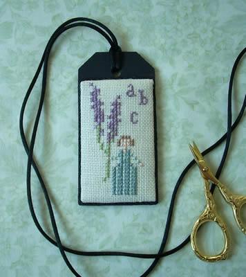 The Primitive Jewel Closeout Lavender Girl Necklace Kit