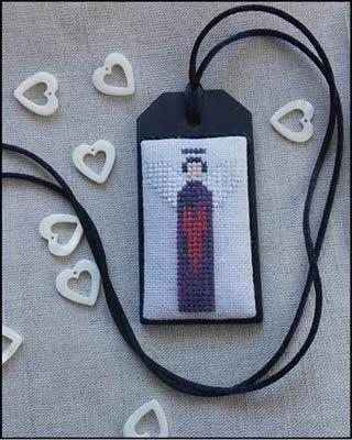The Primitive Jewel Closeout Purple Angel Necklace Kit