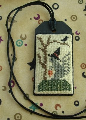 The Primitive Jewel CloseoutSquirrel's Night Out Necklace Kit